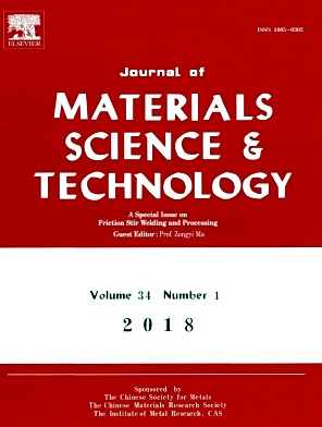 《Journal of Materials Science Technology》封面