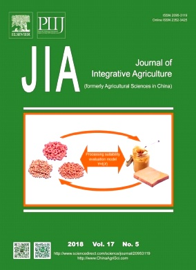 《Journal of Integrative Agriculture》封面