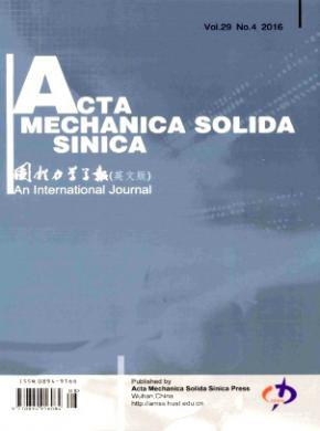 《Acta Mechanica Solida Sinica》