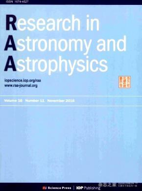 《Research in Astronomy and Astrophysics》
